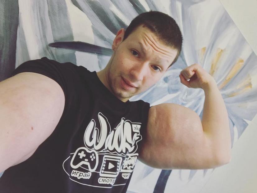 "Кирилл Терешин, ""Руки-Базуки, фотоархив. Фото скриншот instagram.com/freak_slacker_official"