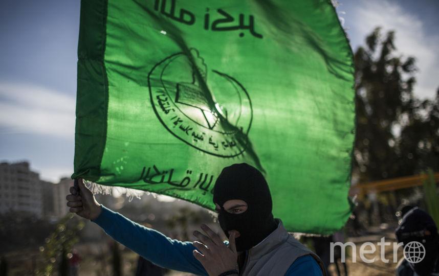 Палестинские протестующие. Фото Getty