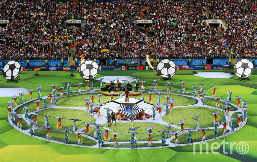 Церемония открытия церемонии ЧМ - 2018. Фото Getty