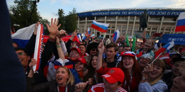 Россия разгромила Саудовскую Аравию со счётом 5:0 в матче открытия ЧМ – 2018.