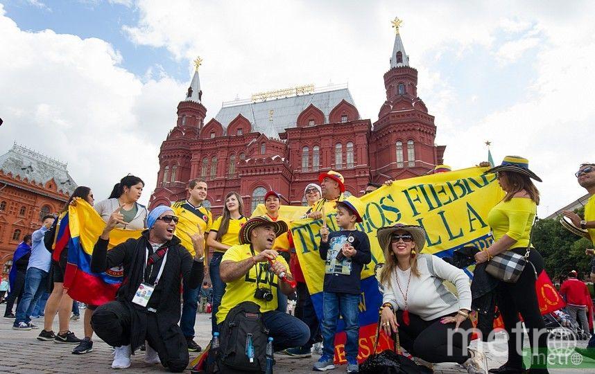 Болельщики в Москве. Фото Василий Кузьмичёнок