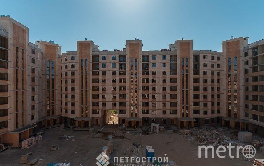 """ЖК Ломоносовъ строят быстро и качественно – как и все объекты СК Петрострой. Фото СК """"Петрострой"""""""