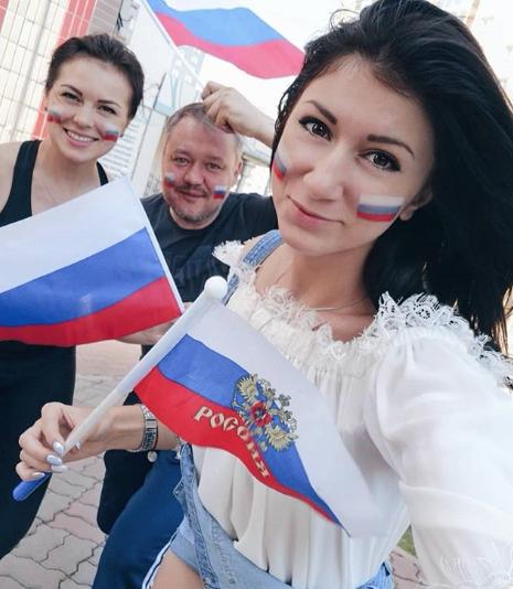 Самые красивые болельщицы ЧМ-2018. Фото instagram/gruzinka_hlf