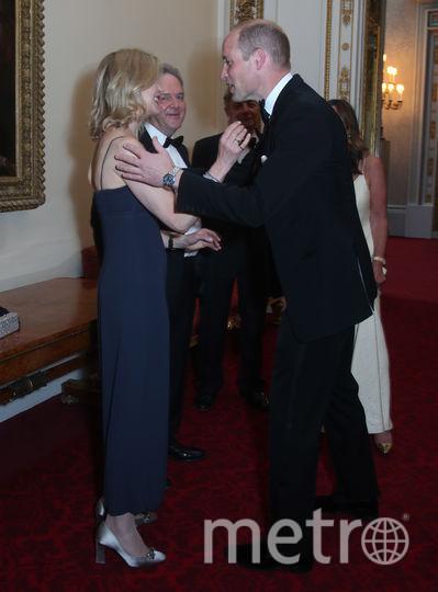 Хелен Тейлор и принц Уильям. Фото Getty