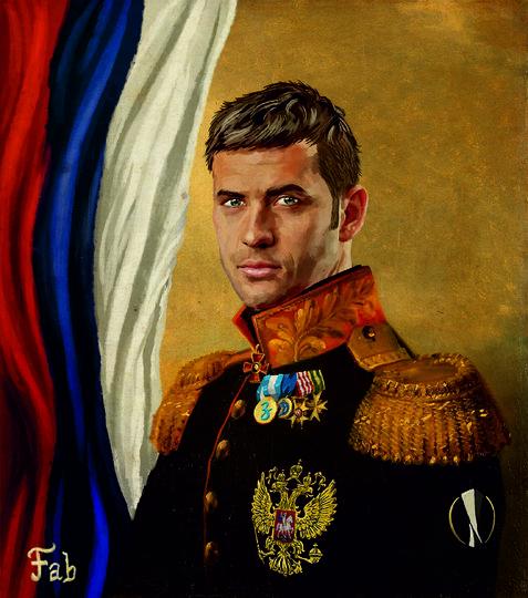 Александр Кержаков. Фото картина Фабрицио Биримбелли, Предоставлено организаторами