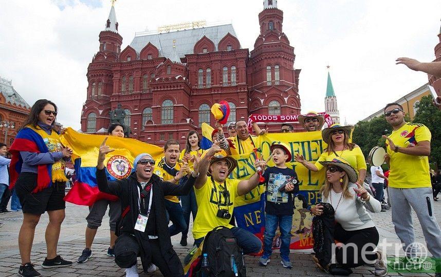 Болельщики, приехавшие в Россию на ЧМ-2018. Фото Василий Кузьмичёнок