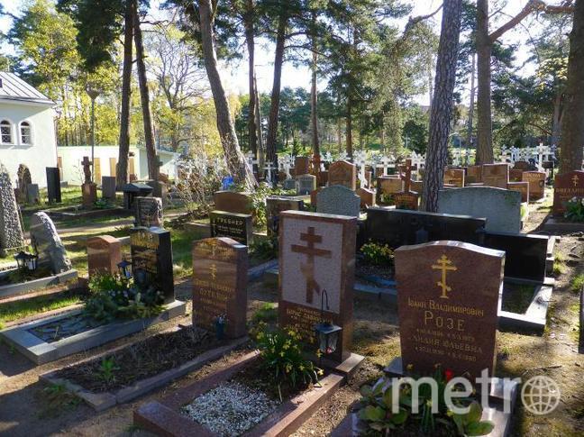Русское кладбище при Свято-Никольском храме в Хельсинки.