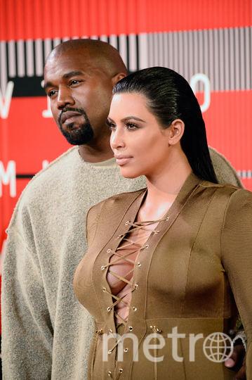 Ким Кардашьян и Канье Уэст. Фото Getty