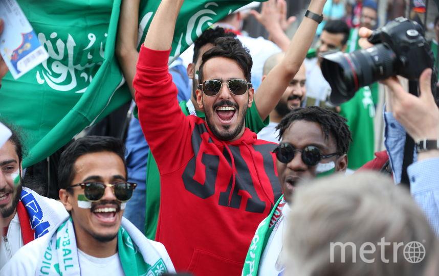 Болельщики сборной Саудовской Аравии. Фото Василий Кузьмичёнок