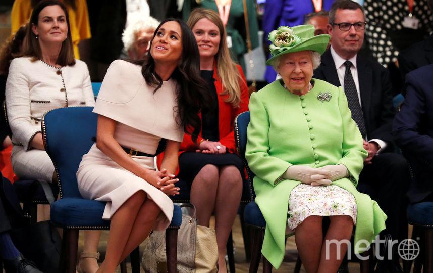 Меган Маркл и Елизавета II. Фото Getty