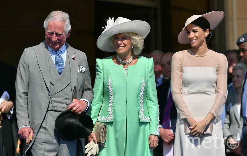 Принц Чарльз, Камилла Паркер-Боулз и Меган Маркл. Фото Getty