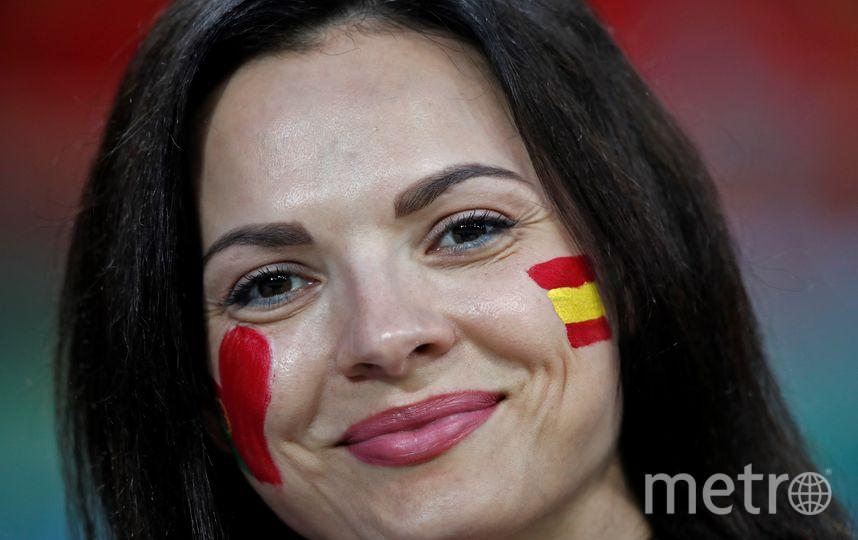 Болельщицы матча Португалия – Испания. Фото AFP