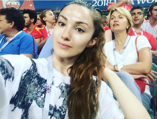 Болельщицы матча Португалия – Испания. Фото Instagram/marinka_maruska