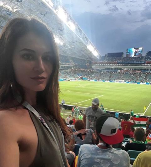Болельщицы матча Португалия – Испания. Фото Instagram/milena_strs