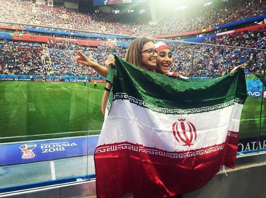 Болельщицы матча Марокко – Иран. Фото Instagram/lisssa_666