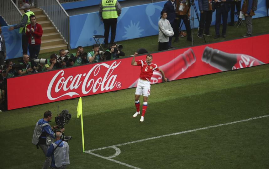Болл-бои на матче Россия – Саудовская Аравия, 14 июня. Фото Фото предоставлено Coca-Cola.