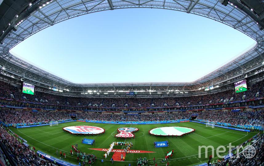 Самые яркие фотографии матча Хорватия – Нигерия. Фото Getty