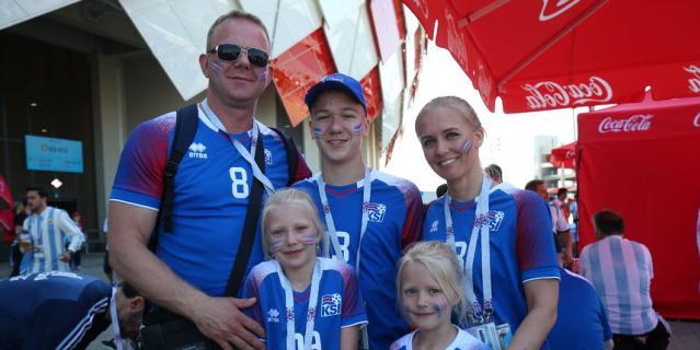 Сара Стурлудоттир приехала в Россию с мужем и детьми.