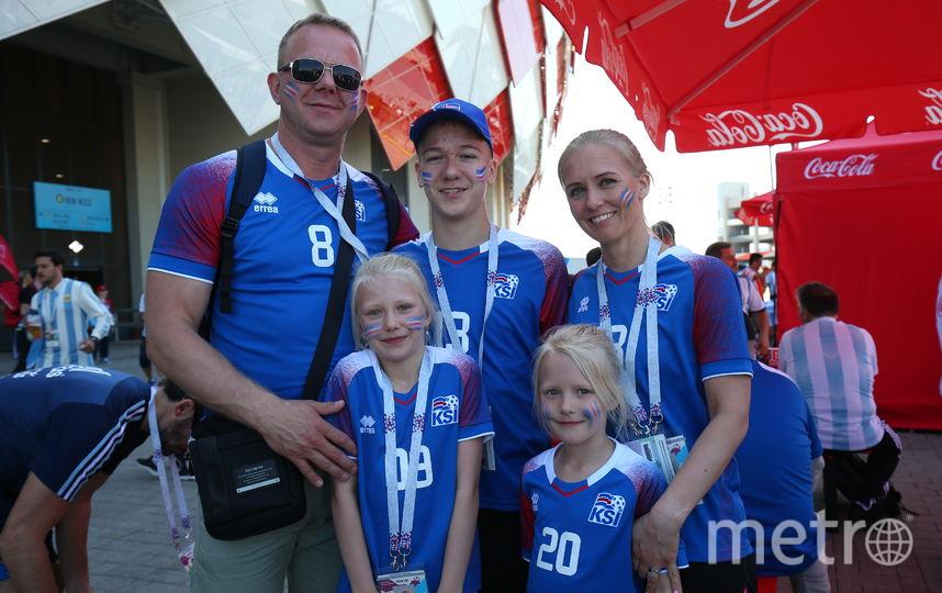 Сара Стурлудоттир приехала в Россию с мужем и детьми. Фото Василий Кузьмичёнок