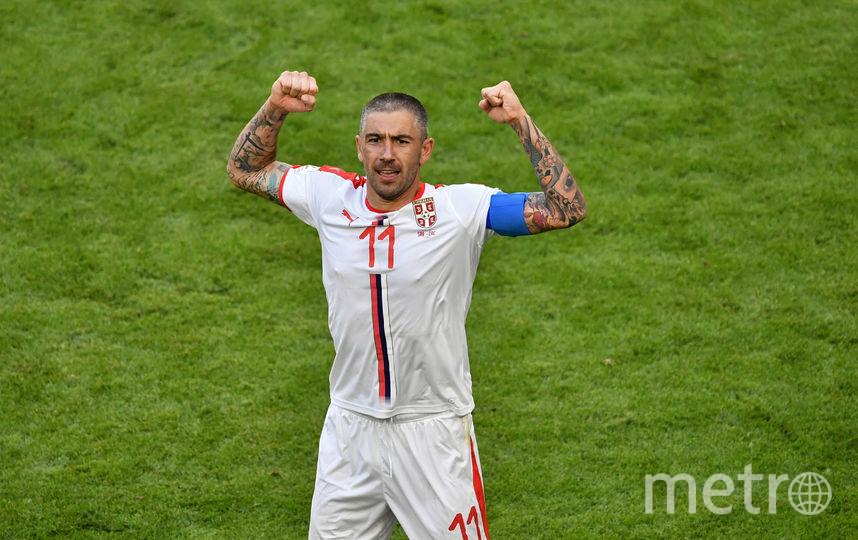 Александр Коларов принёс сербам победу над костариканцами. Фото AFP