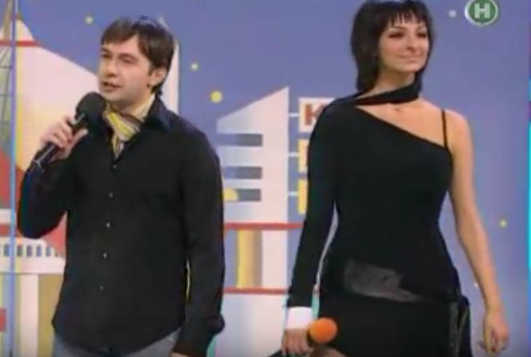 Екатерина Варнава, кадры КВН, 2005 год. Фото Скриншот YouTube