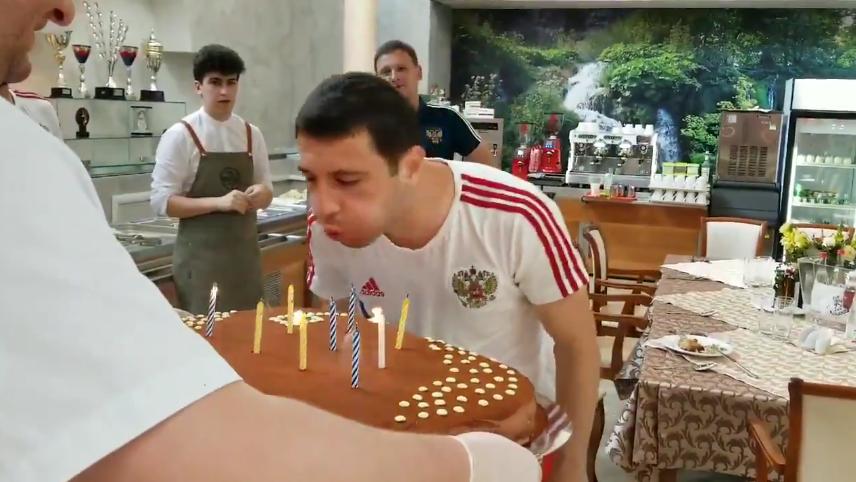 Алану Дзагоеву исполнилось 28 лет. Фото Скриншот/Twitter