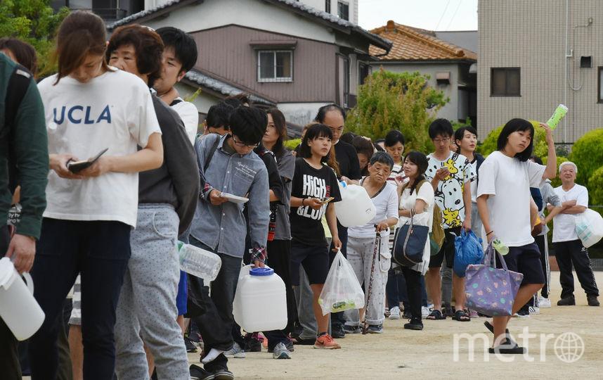 Сильное землетрясение произошло в Японии. Фото AFP