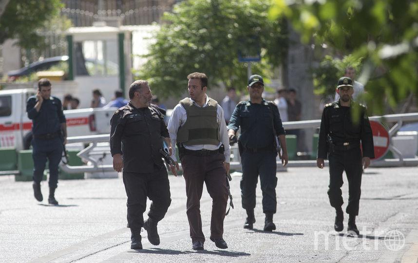 Полиция Ирана. Фото Getty