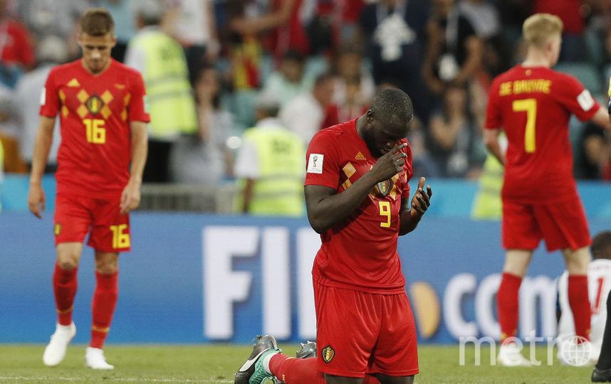 Фрагмент матча Бельгия - Панама. Фото AFP