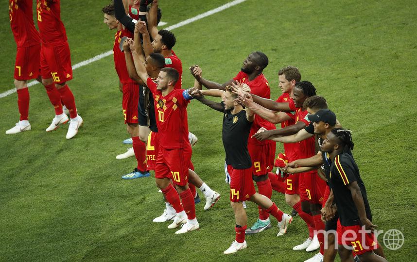 Бельгийцы радуются победе над Панамой. Фото AFP