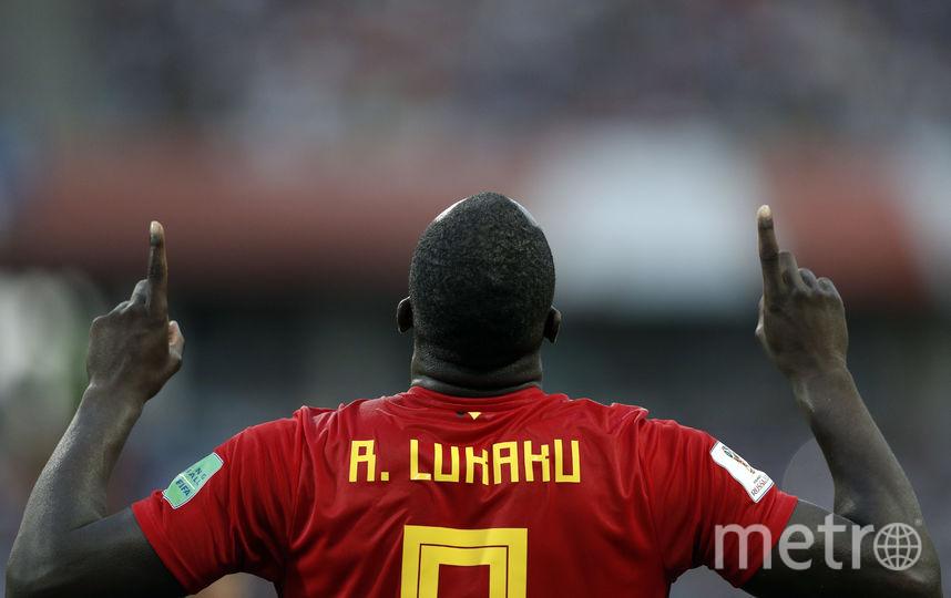Ромео Лукаку отличился в матче с Панамой дважды. Фото AFP