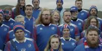 Исландские болельщики спели