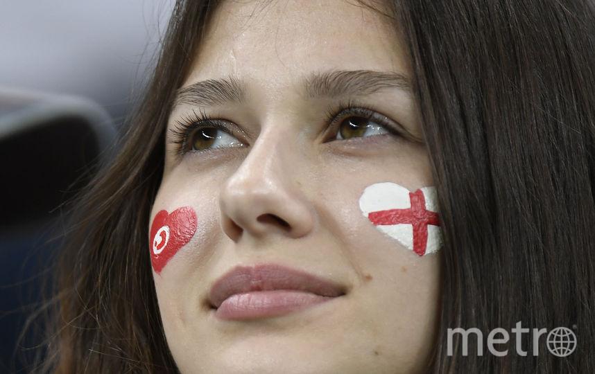 Болельщица матча Тунис – Англия. Фото AFP