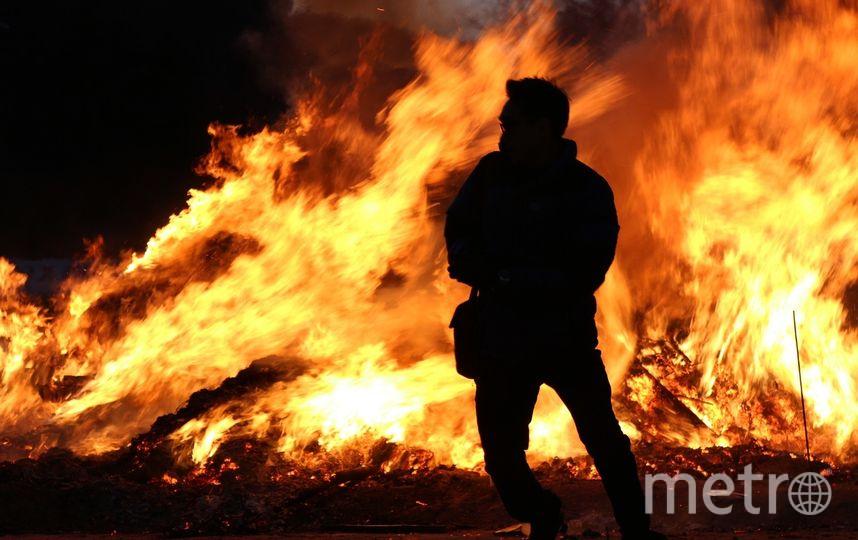 Жителя Челябинской области сожгли на улице. Фото Pixabay