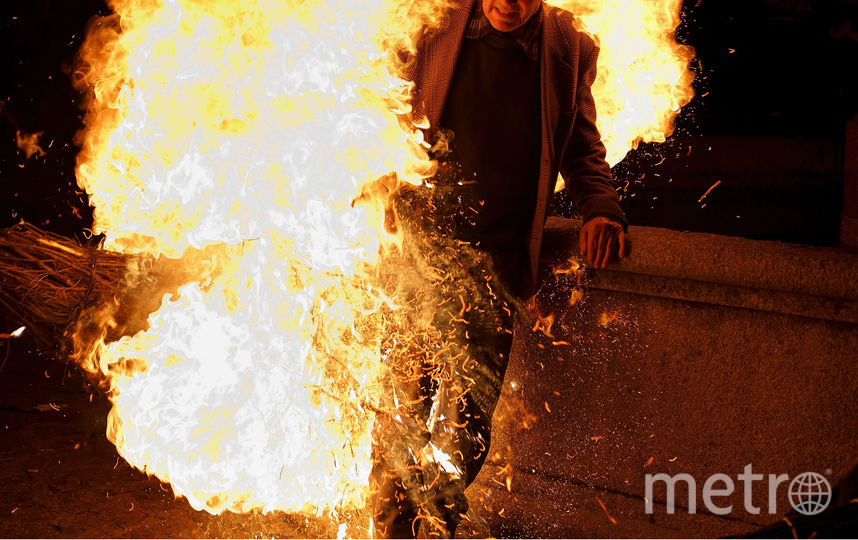 Жителя Челябинской области сожгли на улице. Фото Getty