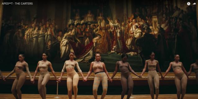Новый клип на песню, в которой Бейонсе и Jay-Z рассказывают о том, какого успеха, богатства и признания они добились, проводит зрителя по нескольким залам Лувра.