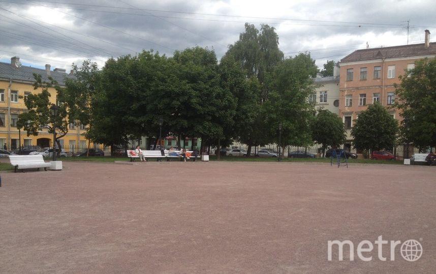 Петербуржцы намерены благоустроить сквер Даниила Гранина в этом году. Фото Центральный район за комфортную среду обитания.