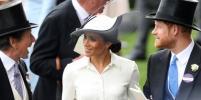 Меган Маркл блистала на скачках в Аскоте в шляпке за 2,7 тысяч долларов