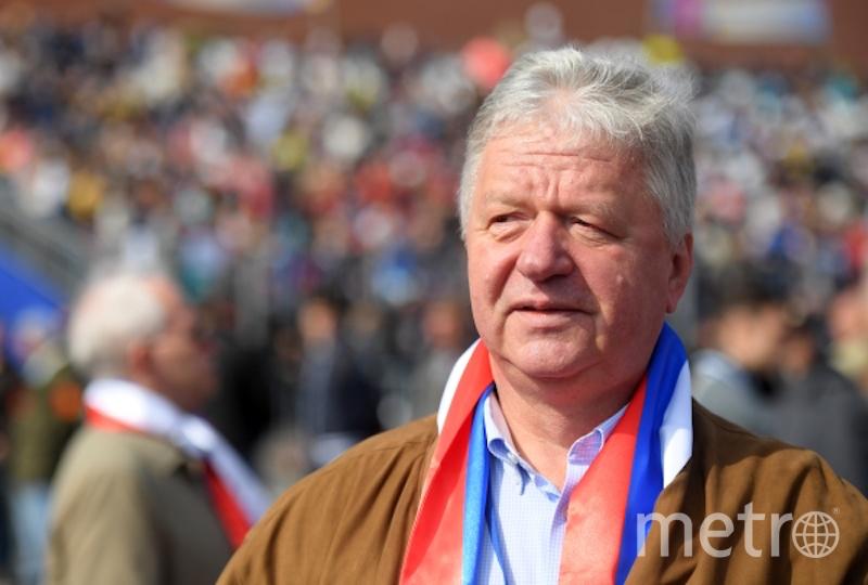 Председатель Федерации независимых профсоюзов России Михаил Шмаков. Фото РИА Новости