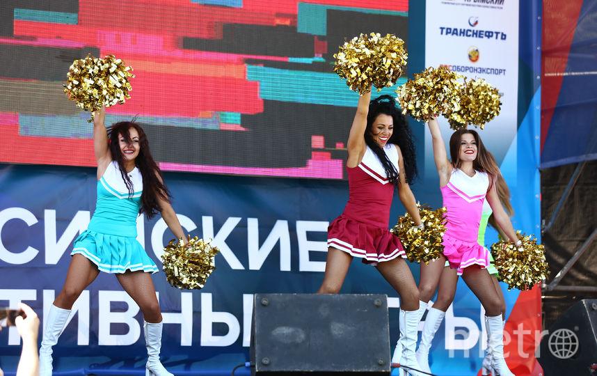 Танцовщицы на открытии Игр. Фото Предоставлено организаторами мероприятия.