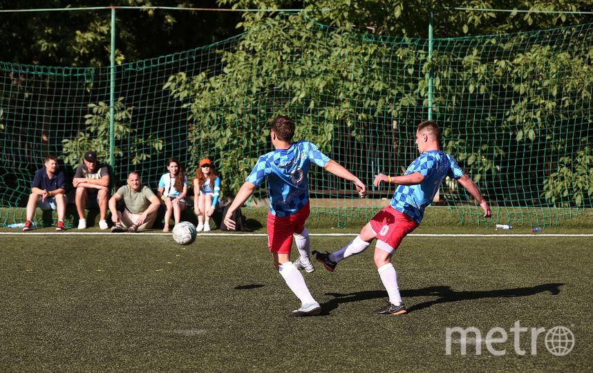 Футбольный матч. Фото Предоставлено организаторами мероприятия.