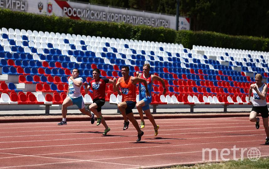 Соревнования по лёгкой атлетике. Фото Предоставлено организаторами мероприятия.