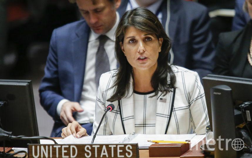 Никки Хейли, постоянный представитель США при ООН. Фото Getty