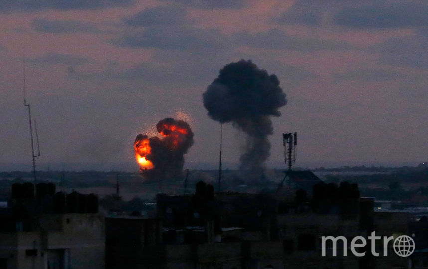 Израильские военные смогли сбить в воздухе 7 ракет, которые были запущены из сектора Газа. Фото AFP