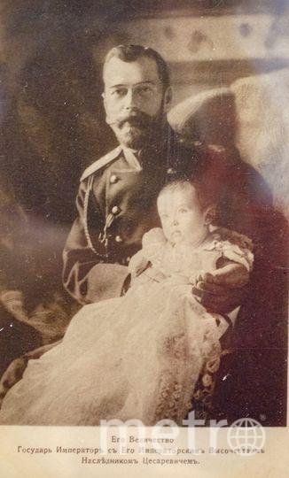"Николай II. Фото Алена Бобрович, ""Metro"""