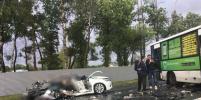 Стало известно, кто был за рулем авто, попавшего в смертельное ДТП на Петергофском шоссе