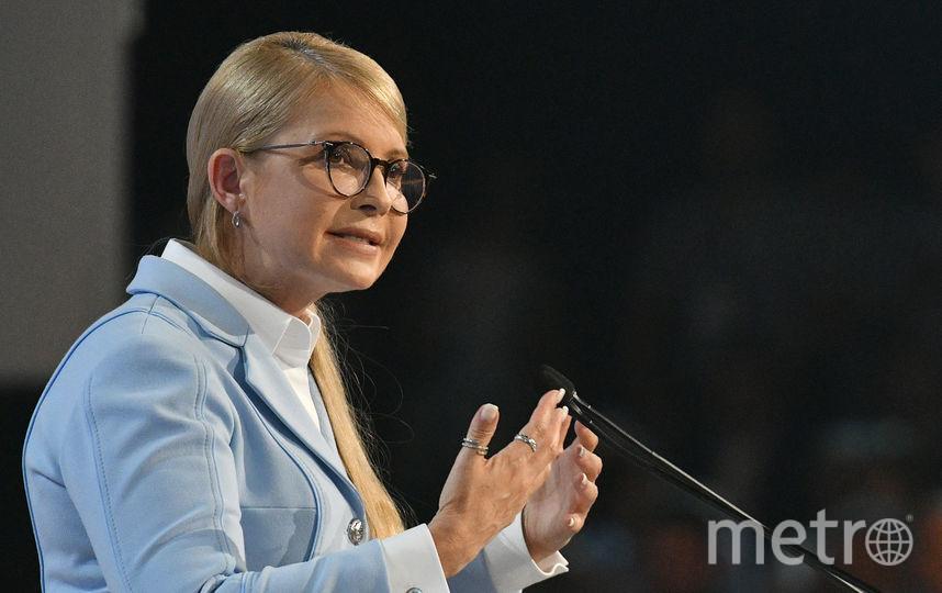 """Лидер партии ВО """"Батькивщина"""" Юлия Тимошенко заявила, что примет участи в президентских выборах в 2019 году. Фото AFP"""