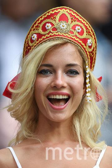 За последние дни по Сети успели разлететься сотни фотографий российских красавиц, пришедших на футбольные матчи поболеть за нашу сборную. Фото AFP