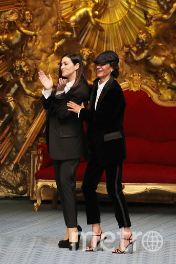 Моника Белуччи на подиуме. Фото Getty