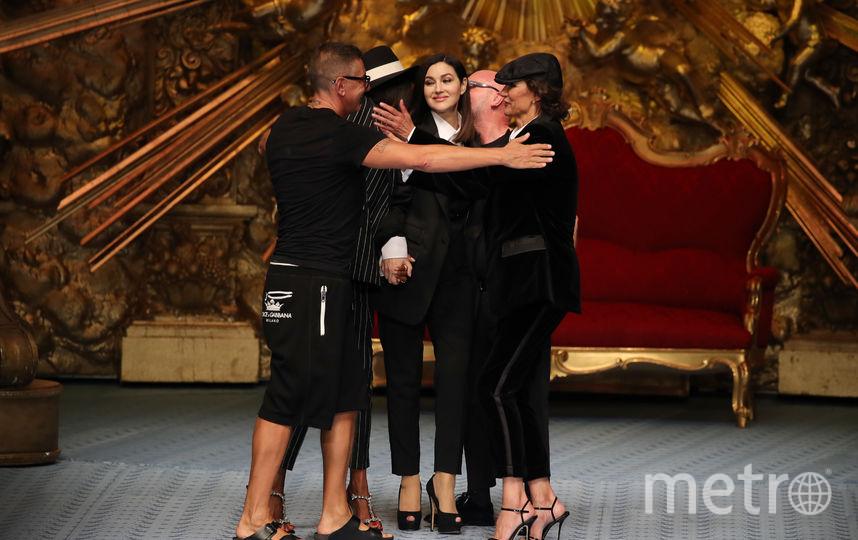 Показ Dolce&Gabbana. Фото Getty